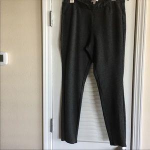 LC Lauren Conrad Pants /Leggings Gray -Size Large